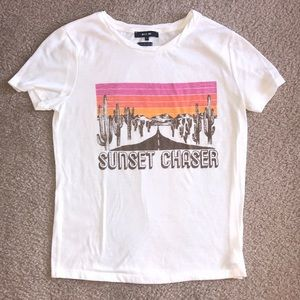 Miss Me Sunset Chaser Tee